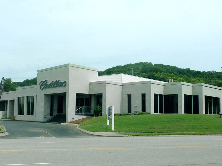 ANDREWS CADILLAC – D.F. Chase, Inc. Construction Andrews Cad