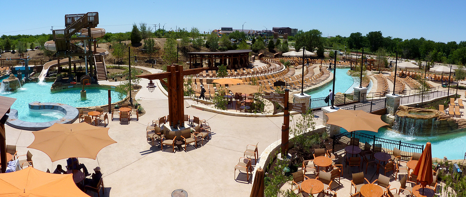 Water Park And Amenity Building Gaylord Texan Resort And Convention